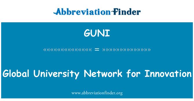 GUNI: Global University Network for Innovation