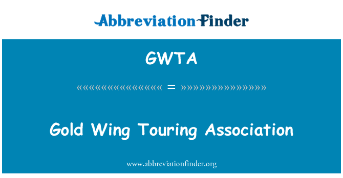 GWTA: Gold Wing Touring Association