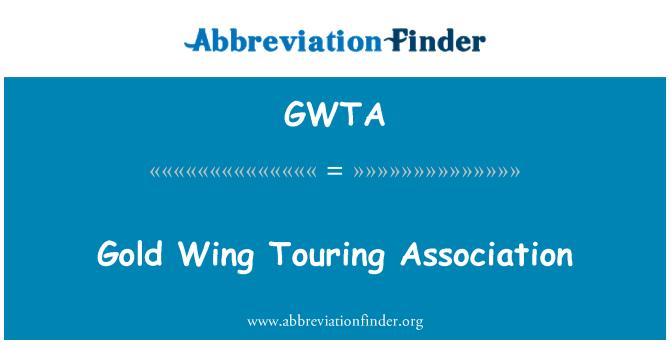 GWTA: Gold Wing Touring Asociación