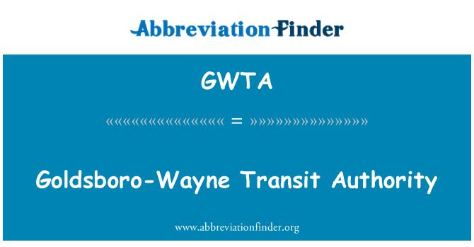 GWTA: Autoridad de tránsito de Goldsboro-Wayne