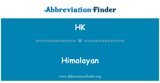 HK: Himalaya