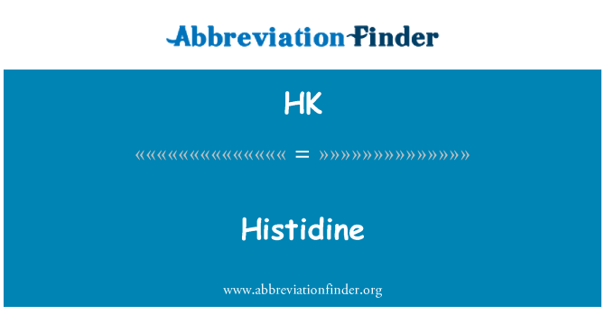 HK: Histidine