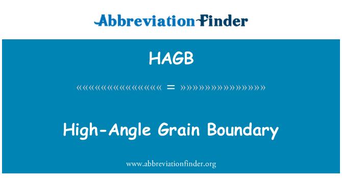 HAGB: Yüksek açı tahıl sınır