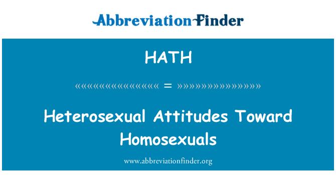 Heterosexual meanings in english