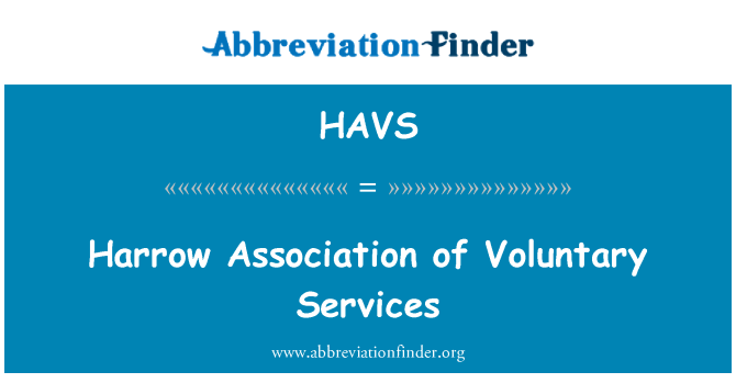 HAVS: Harrow Association of Voluntary Services