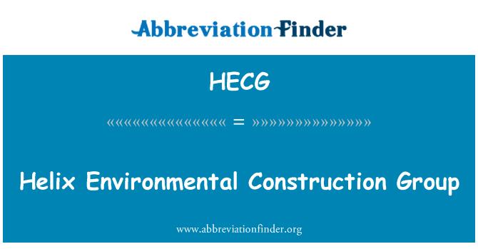 HECG: Helix Environmental Construction Group