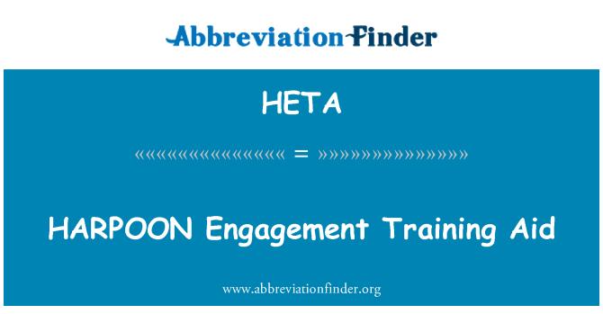 HETA: HARPOON Engagement Training Aid