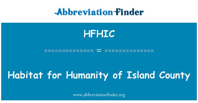 HFHIC: Habitat for Humanity of Island County