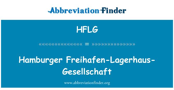 HFLG: Hamburger Freihafen-Lagerhaus-Gesellschaft