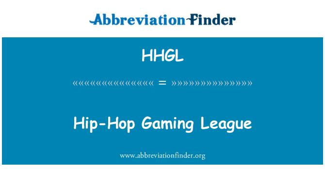 HHGL: Hip-Hop Gaming League