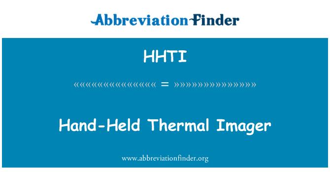 HHTI: Hand-Held Thermal Imager