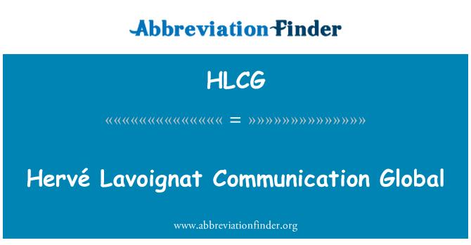 HLCG: Hervé Lavoignat comunicación Global