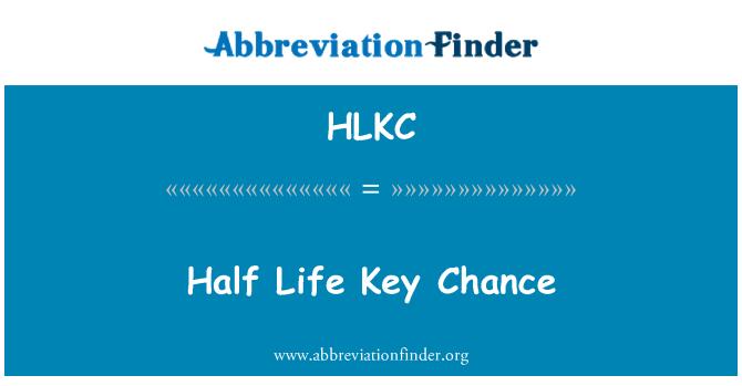 HLKC: Half Life Key Chance