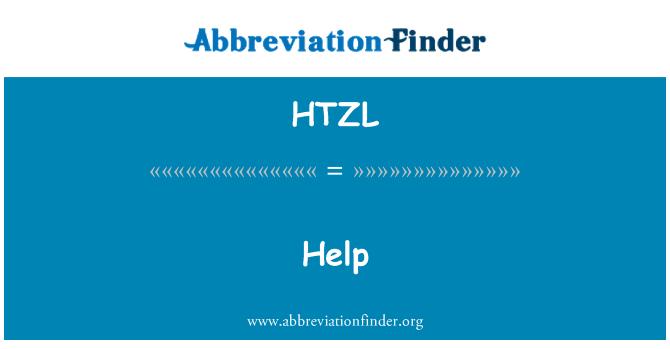 HTZL: Bantuan