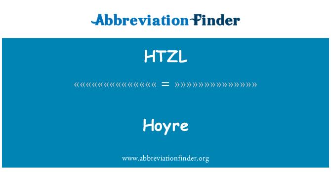HTZL: Hoyre
