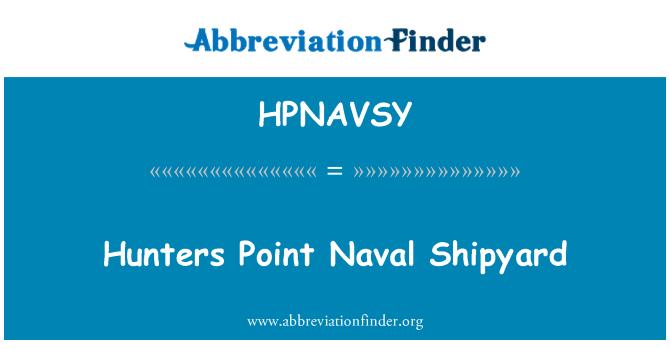 HPNAVSY: Hunters Point Naval Shipyard