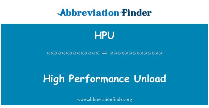 HPU: Descarga de alto rendimiento