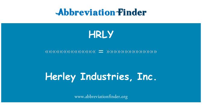 HRLY: Herley Industries, Inc