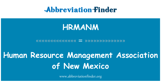HRMANM: Human Resource Management Association of New Mexico