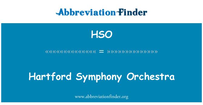 HSO: Hartford Symphony Orchestra