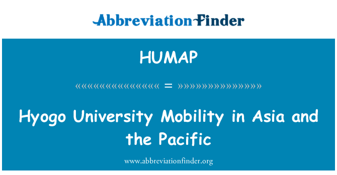 HUMAP: Hyogo University Mobility in Asia and the Pacific