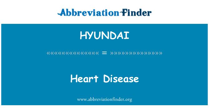 HYUNDAI: Enfermedades del corazón