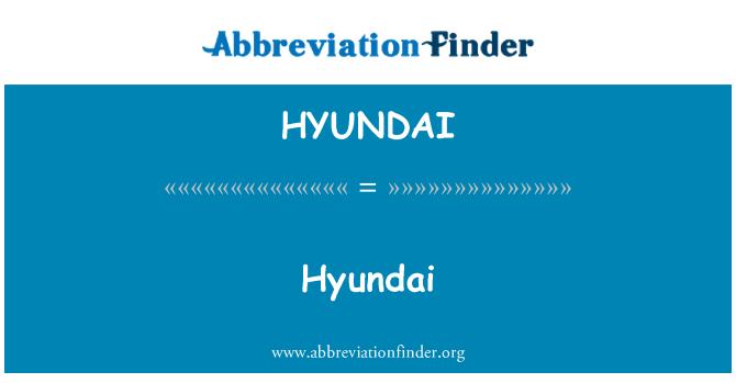 HYUNDAI: Hyundai