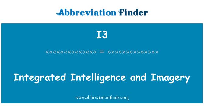 I3: Las imágenes y la inteligencia integrada