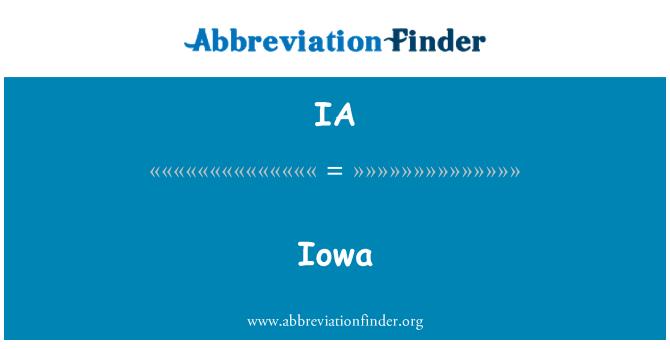 IA: Iowa