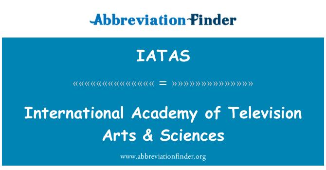 IATAS: International Academy of Television Arts & Sciences