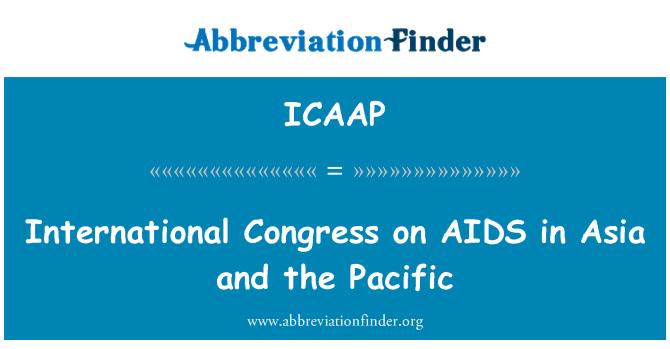 ICAAP: Congreso Internacional sobre el SIDA en Asia y el Pacífico