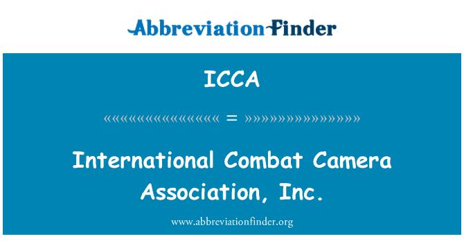 ICCA: International Combat Camera Association, Inc.