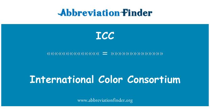 ICC: International Color Consortium