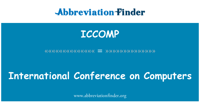 ICCOMP: International Conference on Computers