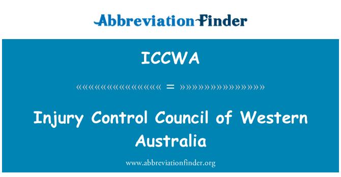 ICCWA: Injury Control Council of Western Australia
