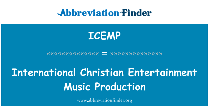 ICEMP: International Christian Entertainment Music Production
