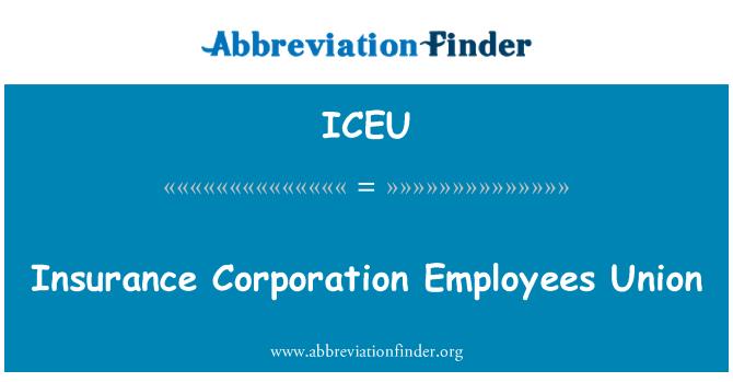 ICEU: Sindicato de empleados de la Corporación de seguros
