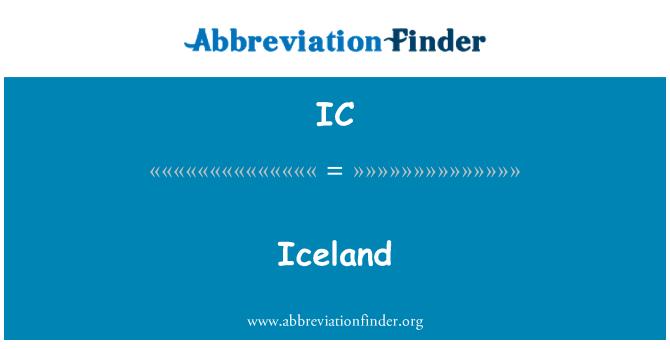 IC: Iceland