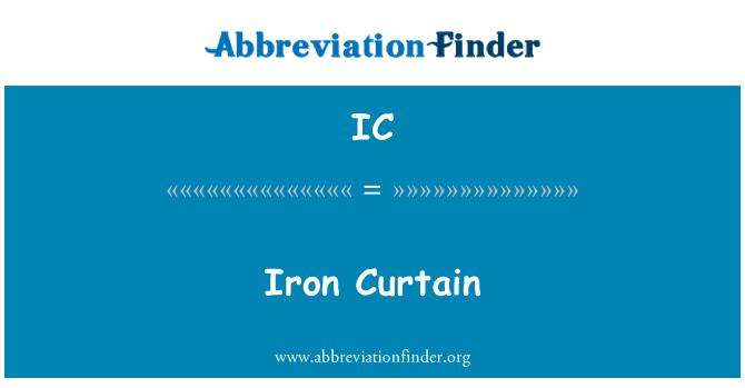 IC: Iron Curtain