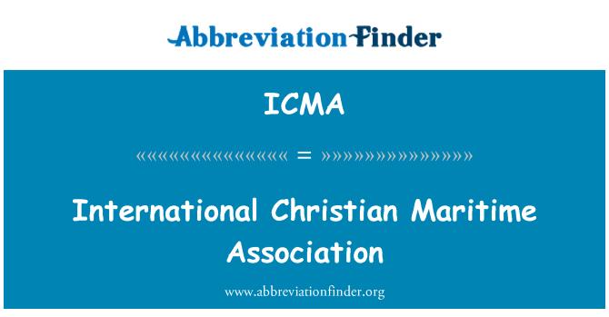 ICMA: Asociación Marítima Cristiana Internacional