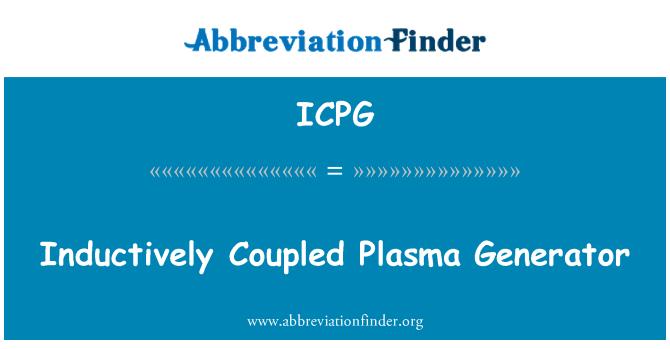 ICPG: Inductively Coupled Plasma Generator
