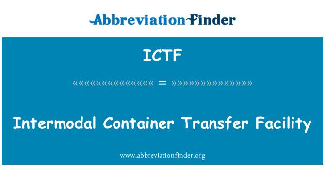 ICTF: Konteiner ülekande teenuse