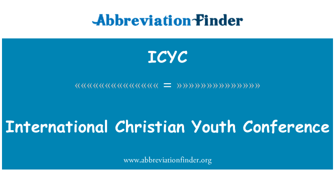 ICYC: International Christian Youth Conference