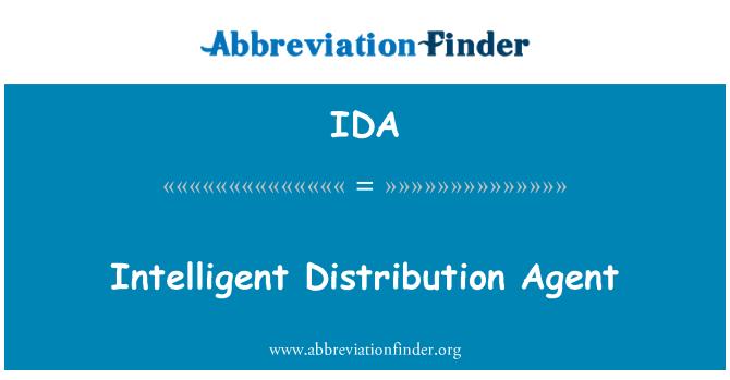 IDA: Intelligent Distribution Agent