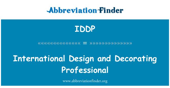 IDDP: International Design and Decorating Professional