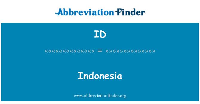 ID: Indonesia