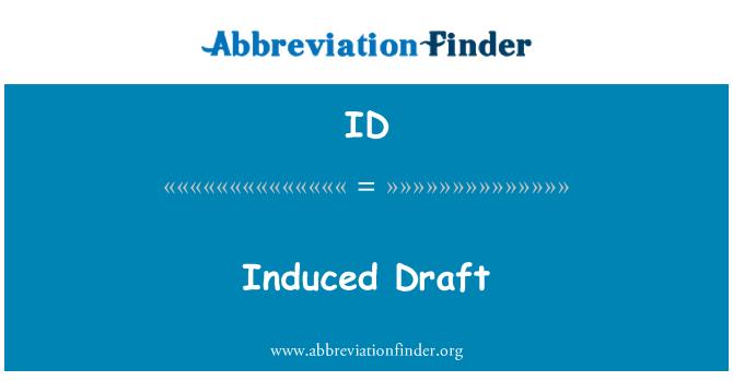 ID: Induced Draft