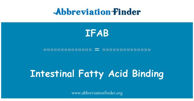 IFAB: Intestinal Fatty Acid Binding