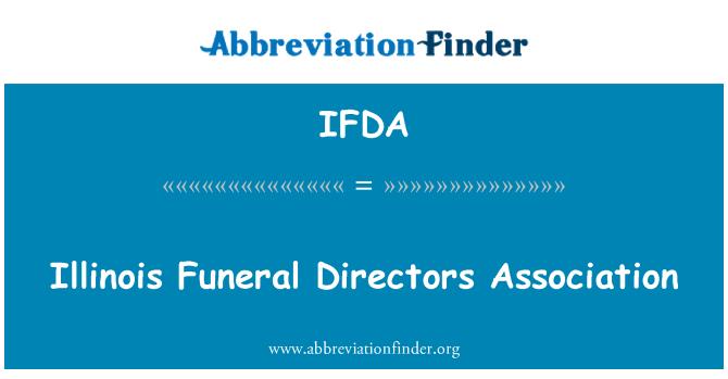 IFDA: Illinois pengebumian Pengarah Persatuan