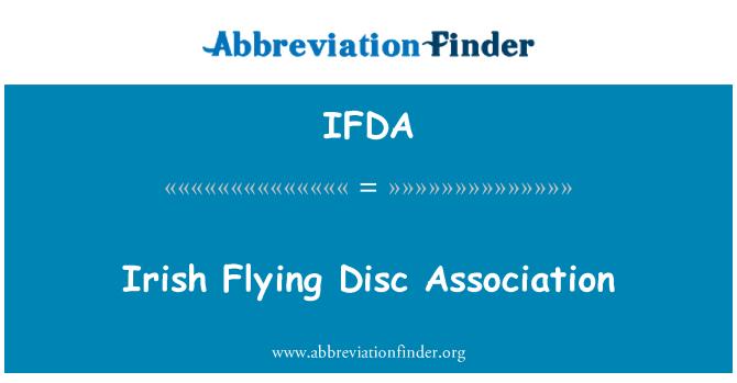 IFDA: Irish yang terbang Persatuan cakera